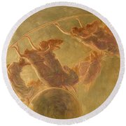 The Dance Of The Hours, 1899 Round Beach Towel