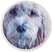 The Darling Round Beach Towel