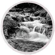 The Falls End Round Beach Towel