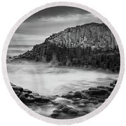 The Giant's Cove Round Beach Towel