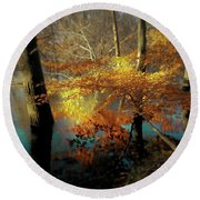 The Golden Bough Round Beach Towel