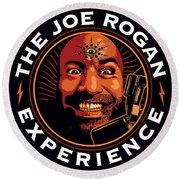 The Joe Rogan Round Beach Towel
