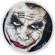 The Joker Round Beach Towel