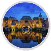The Koppelpoort Amersfoort Round Beach Towel