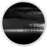 The Outer Rim Round Beach Towel