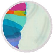 The Right Timing Round Beach Towel