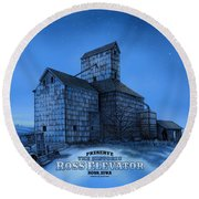 The Ross Elevator Version 3 Round Beach Towel