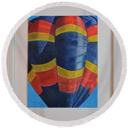 The Sky, Is It The Limit? Round Beach Towel