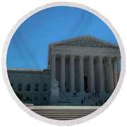 The Supreme Court Round Beach Towel