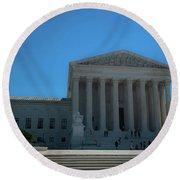 The Supreme Court Round Beach Towel