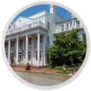 The Willcox Hotel - Aiken Sc Round Beach Towel