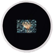 There Is Magic Round Beach Towel