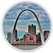 This Is St Louis 2019 Round Beach Towel