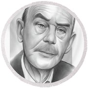 Thomas Mann Round Beach Towel