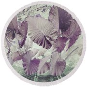 Borneo Giant Abstract Round Beach Towel