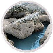 Tidal Pool 1 Round Beach Towel