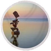 Total Zen Round Beach Towel