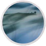 Touch Of Wind Round Beach Towel