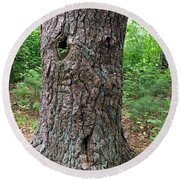 Tree People - Harry  Round Beach Towel