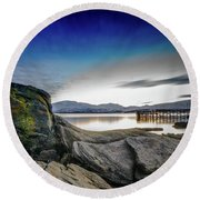 Tromso Round Beach Towel