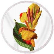 Tropical Bouquet-flower One Round Beach Towel