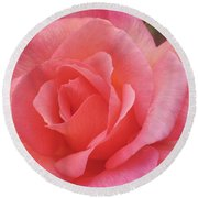 Truly Pink  Round Beach Towel