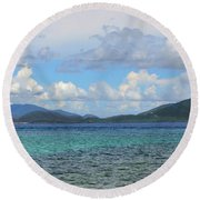 Two Nations Round Beach Towel