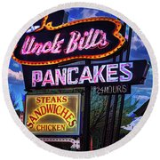 Uncle Bill's Round Beach Towel