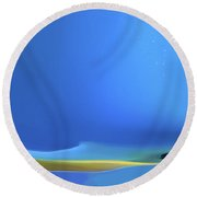 Undercurrents Round Beach Towel