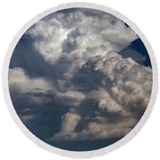 Updrafts And Anvil 008 Round Beach Towel