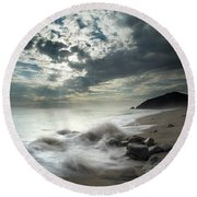 Ventura County Line Round Beach Towel