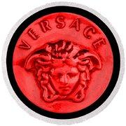 Versace Jewelry-5 Round Beach Towel