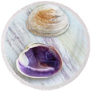 Wampum Remarkable Round Beach Towel