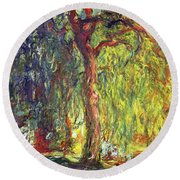 Weeping Willow - Digital Remastered Edition Round Beach Towel