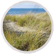 Whispering To Me Round Beach Towel