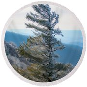 Wind Shaped Round Beach Towel
