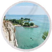 Woodbine Beach Round Beach Towel