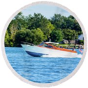 Yes Its A Chris Craft Round Beach Towel