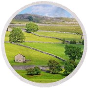 Yorkshire Dales Round Beach Towel