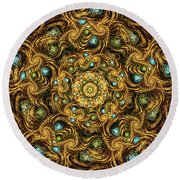 Zechariah Round Beach Towel