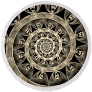 Zephaniah Round Beach Towel