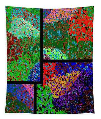 Abstract Fusion 86 Tapestry