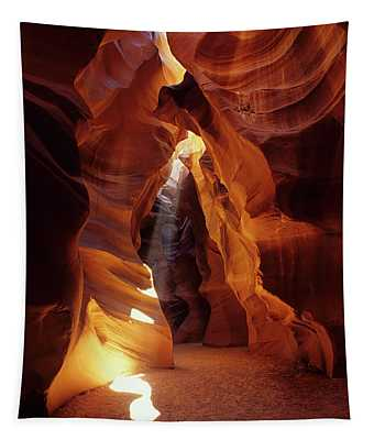 Antelope Canyon Ray Of Hope Tapestry