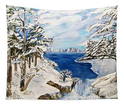 Blanket Of Ice Tapestry