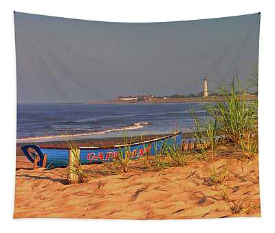 Cape May Beach Tapestry