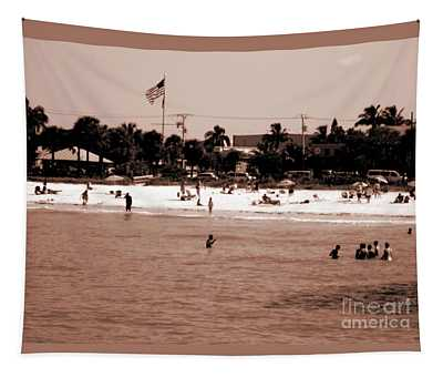 Fort Myers Beach Tapestry