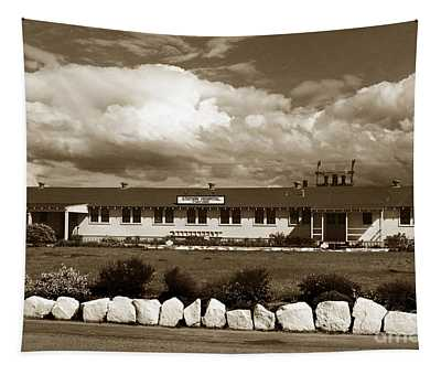 The Fort Ord Station Hospital Administration Building T-3010 Building Fort Ord Army Base Circa 1950 Tapestry