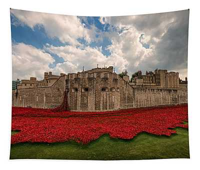 Tower Of London Remembers.  Tapestry