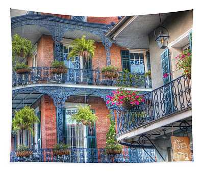 0255 Balconies - New Orleans Tapestry