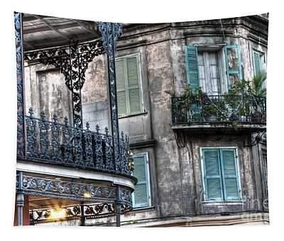 0275 New Orleans Balconies Tapestry